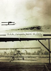 Air Show (San Diego Air & Space Museum Archives) Tags: airshow coronado ca aviation navalaviation aviator unitedstatesnavy usn theodoregordonellyson theodoregellyson theodoreellyson ellyson navalaviatorno1