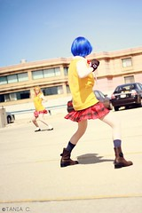 Fight! (tonicnebula) Tags: cosplay animecentral ikkitousen ryomoushimei hakufusonsaku acenphotoshoot