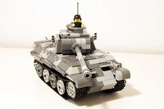 Panther Ausf. D (stej123) Tags: tank lego german ww2 panther panzer moc legotank ausfd