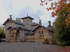 In The Knowe (Bricheno) Tags: autumn house scotland glasgow escocia villa southside mansion szkocja schottland scozia cosse pollokshields alexandergreekthomson  esccia alexanderthomson   bricheno scoia