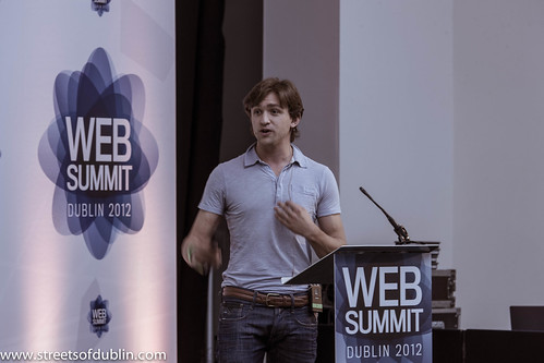 Taso Du Val - Second Day Of The 2012  Web Summit In Dublin