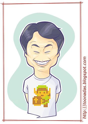 Shigeru Miyamoto, obra de Fernando de Souza