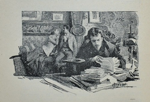 Work or Play! -   Mensonges by Paul Bourget 1890