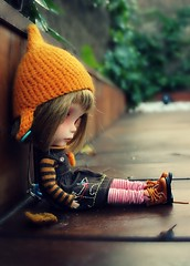 I´m not sad, it´s just that my shoe laces are really interesting and i want to look at them alone...
