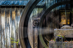 The Wheel on the Mill goes round and round (Michael Kline) Tags: autumn fall october blueridgeparkway 2012 mabrymill