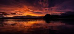 A magic night (Geir Vika) Tags: vann sørlandet kristiansand hav vika geir bildekritikk geirvika