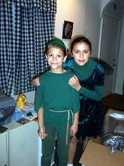 Peter Pan and Tinker Bell (JDDJS) Tags: costumes halloween costume