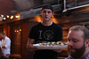 IMG_2738.jpg (mikepirnat) Tags: ohio people food rooftop mike hat cleveland restaurants tshirt plate server bloodsausage heavenandearth eastfourth mikecrute greenhousetavern
