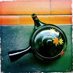autumn kyusu (Photo/Graphic) Tags: autumn tea teapot photostream kyusu iphone365