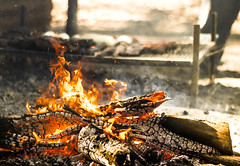 wood cooking argentina argentine outdoors fire smoke cook bbq meat grill flame heat ash parrilla asado grilling