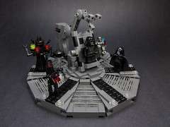 Palpatine's Medical Chamber (Walter Benson) Tags: dark star scary community palpatine sad lego scene creepy medical robots revenge burnt darth round chamber scifi anakin plates wars alive vader build medic vignette episode diorama medicinal skywalker droids the sidious grills bley bignette sithepisode iiiepisode 3eurobricks iiicommunity
