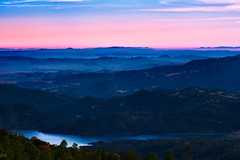 Vacaville Ridge (boingyman.) Tags: trees light sunset sky mountain canon river landscape layers scape scaping 55250 t2i boingyman