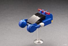 Lego Blade Runner Spinner (_Tiler) Tags: ford car scott harrison lego bladerunner harrisonford ridleyscott police micro policecar vehicle mead syd flyingcar spinner deckard moc ridley microscale sydmead hoovercar bladerunnerspinner