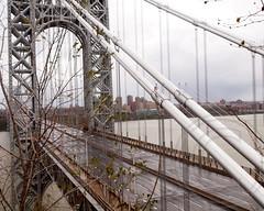 2012 Hurricane Sandy - Car Free George Washington Bridge, New York-New Jersey (jag9889) Tags: bridge newyork storm newjersey flooding closed crossing sandy hurricane super hudsonriver gwb georgewashingtonbridge 2012 superstorm k007 october2012 jag9889 y2012 hurricanesandy superstormsandy
