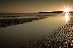 Nos Da (i.m.j.) Tags: sunset sea sky seascape beach saint island coast sand cymru peaceful flare ripples llanddwyn anglesey ynysmn imj arfordir canon7d canonef24105mm14lisusm