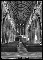 Photo of Dunblane Cathedral nave - Stirlingshire - Scotland