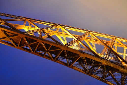 forth rail bridge at dusk 2013 north queensferry