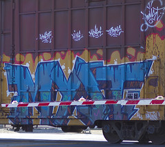 IMG_3462 (bkuz2013) Tags: california train graffiti graff westcoast freight myst freighttrain freights benching freighttraingraffiti allnation