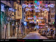 Navidades Torrelavega 2012 - Ruiz Tagle (www.pedroferrer.com) Tags: luces urbano nocturnas canoneos50dcanoneos50dpedroferrerfotografiahttpwwwpedroferrercomespaaspainespagnespanienespanhaespagnapedroferrereuropaeuropetorrelaveganavidad