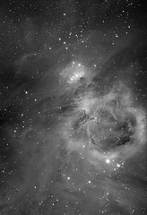 M42 in Ha (astrochuck) Tags: astrophotography orion m42 astronomy ha ccd refractor qhy9m