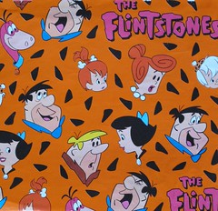 The Flintstones Wrapping Paper (hmdavid) Tags: wrapping paper wilma dino cartoon wrap pebbles betty gift fred 1960s cleo barney bambam hannabarbera theflintstones