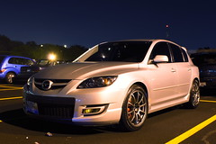 DSC03366 (Photography by BNC) Tags: auto car vw night honda photography long exposure nissan jeep flash mob toyota mazda audi acura meet mitsubishi jdm