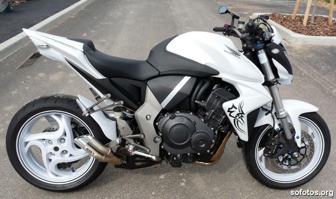 Honda CB1000R Branca