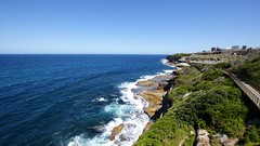 Bondi Coogee Walk (dlerps) Tags: ocean cliff water coast sony sydney sigma australia shore lerps sonyalphadslr bondicoogeewalk daniellerps