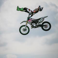 Not Seated Properly (nixter) Tags: monster jump truth fav20 motorcycle omaha motocross 30d fav10 daredevils ridersfortruth