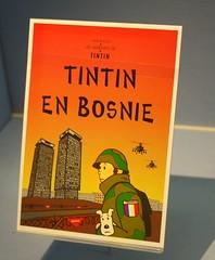 Tintin En Bosnie (Smabs Sputzer (1956-2017)) Tags: en twins sad belgique belgie snowy bosnia group crap captain tintin eighties haddock thompson herge