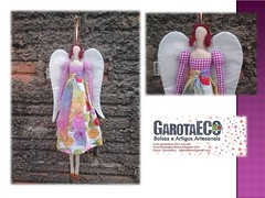 Tilda Arco ris (GarotaECO Atelie) Tags: angel vintage boneca patchwork tilda