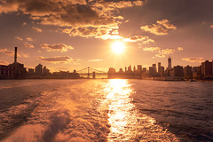 The New York City Skyline at Sunset (Vivienne Gucwa) Tags: city nyc newyorkcity sunset urban newyork ferry skyline brooklyn landscape pretty cityscape manhattan brooklynbridge manhattanbridge eastriver manhattanskyline gothamist lowermanhattan curbed cityskyline urbanlandscape nycskyline urbanphotography nycwaterfront newyorkcityskyline nycphoto brooklynskyline nycsunset newyorkcitysunset nycskyscrapers urbanwaterfront cityphoto cityphotography newyorkphoto manhattansunset newyorkphotography nycphotography newyorkcityphotography newyorkcitywaterfront nycboat eastriverferry viviennegucwa viviennegucwaphotography eastriverferryview