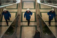 zone de démultiplication-3 (mptqm) Tags: two reflection trois composition walking one three magasin commerce geometry walk centre bordeaux streetphotography olympus architectural un reflet similar deux symetry omd geometrie symétrie em5