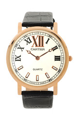 Cartier-Model06 (Hassan AlMarhoun) Tags: black leather hand watch cartier