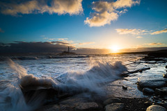 "St Mary's Lighthouse at Dawn with High Tide<br /><span style=""font-size:0.8em;"">Sunrise photoshoot at Old Hartley in Ian Purves' blog <a href=""http://purves.net/?p=1070"" rel=""nofollow"">purves.net/?p=1070</a></span> • <a style=""font-size:0.8em;"" href=""https://www.flickr.com/photos/21540187@N07/8440347549/"" target=""_blank"">View on Flickr</a>"