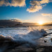 """St Mary's Lighthouse at Dawn with High Tide<br /><span style=""""font-size:0.8em;"""">Sunrise photoshoot at Old Hartley in Ian Purves' blog <a href=""""http://purves.net/?p=1070"""" rel=""""nofollow"""">purves.net/?p=1070</a></span> • <a style=""""font-size:0.8em;"""" href=""""https://www.flickr.com/photos/21540187@N07/8440347549/"""" target=""""_blank"""">View on Flickr</a>"""