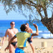 Beach Volleyball on Malia beach, Crete