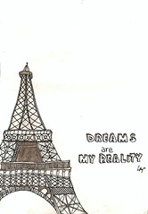 paris! (Limii) Tags: paris art illustration pencil drawing dreams