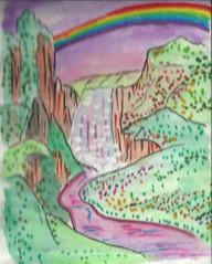topiorov (regina11163) Tags: fairyland waterfall painting outdoor landscape romantic peaceandquiet fantasy
