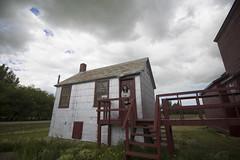 book jacket photo (Trevor Pritchard) Tags: hepburn saskatchewan museum wheat july 2016 julie people rural prairies grain elevator
