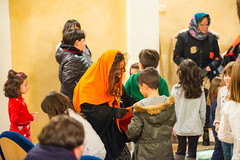 La Befana at Montalto delle Marche - January 2016 (MikePScott) Tags: ascolipiceno befana buildings builtenvironment camera clothing events featureslandmarks festival fiesta italia italy labefana lemarche lens montaltodellemarche nikon105mmf28vrmicro nikond800 people performingarts scarf strega theatre witch marche