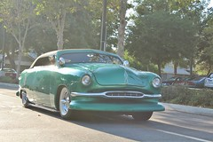 Lake Avenue Church Classic Car Nights 8/26/16 (USautos98) Tags: 1951 ford shoebox leadsled convertible hotrod streetrod kustom