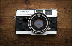 Petri Racer with 45mm f1.8 Lens (Lens Bubbles) Tags: petri racer 45mm f18 lens diy rangefinder