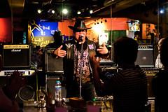 At Eiichi MIYANAGA (Drums of Murasaki) Solo Live :  (Dakiny) Tags: 2016 summer august japan tokyo edogawa city street event music rock band drums drummer people man guy portrait chibi eiichimiyanaga d7000 nikkor 50mm f18 afsnikkor50mmf18g nikonafsnikkor50mmf18g nikonclubit