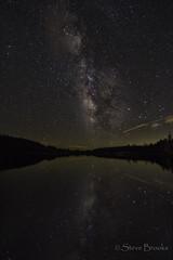 Tranquil (smbrooks_2000) Tags: lakealpine california milyway stars sky night nightphototography reflection lake water