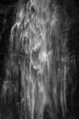 Ghostly Apparition (Katrina Wright) Tags: multnomahfalls oregon waterfall dsc2409 bw monochrome ghostly