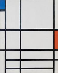 Composition en rouge, bleu et blanc II, 1937 (Jonathan Lurie) Tags: piet mondrian art museums modern museum centre georges pompidou eu16 paris europe painting artinmuseums centregeorgespompidou modernart pietmondrian pompidoucentre