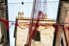 Fisherman's net (steinertree) Tags: fisherman red ancient garda italy lake
