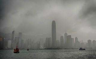 Mist in Hong Kong