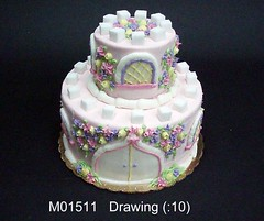 M01511 (merrittsbakery) Tags: cake shaped castle princess tiered medieval